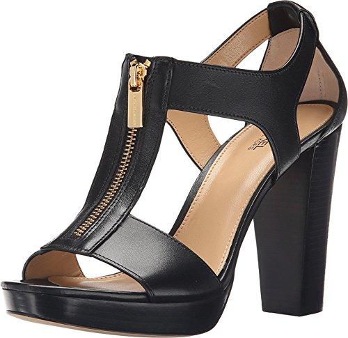Michael Michael Kors Women's Berkley Sandal Black Vachetta Sandal 9.5 M