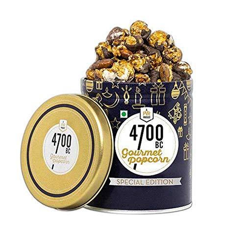 4700BC Gourmet Popcorn, Mocha Walnut Chocolate, Tin, 125g