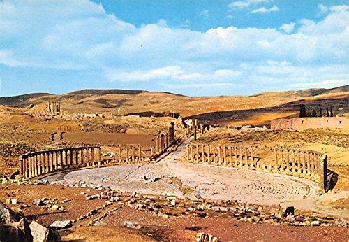 Jerash  Jordan Old Roman City Israel Postcard