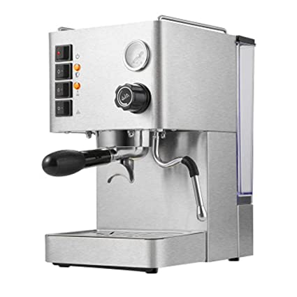 QYQ Máquina semiautomática de café Comercial de la Bomba de la máquina del café del Acero