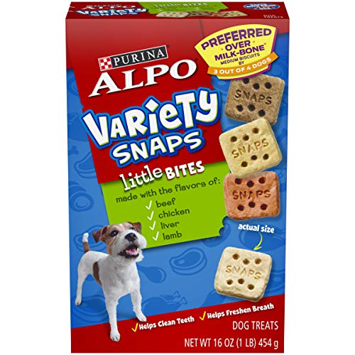 (Purina Alpo Snaps Variety, 16-Ounce (Pack of)