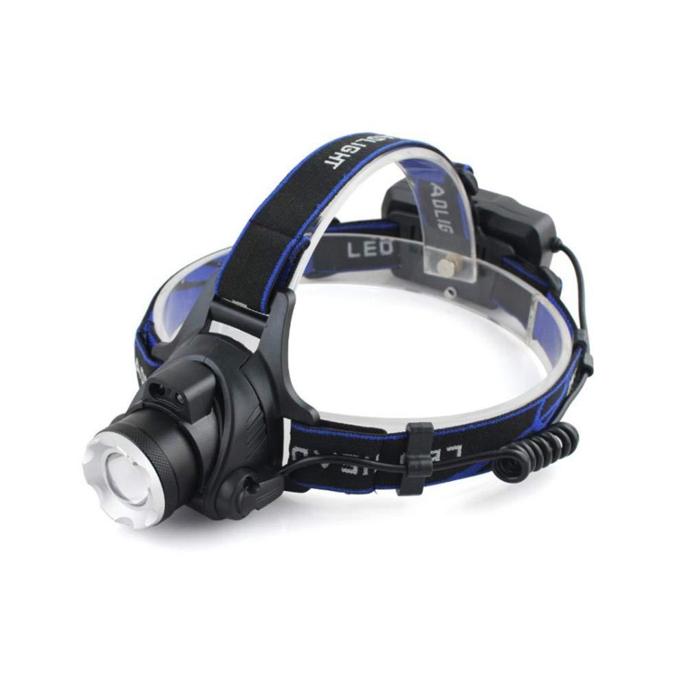 Etmury LED Stirnlampe Wiederaufladbare Wasserdicht LED Kopflampe Helligkeiten Headlight für Laufen,