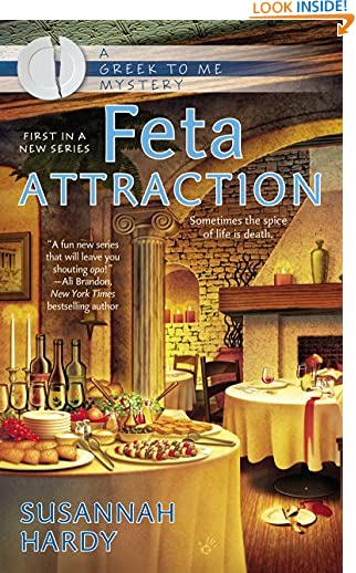 Feta Attraction (A Greek to Me Mystery Book 1) by Susannah Hardy