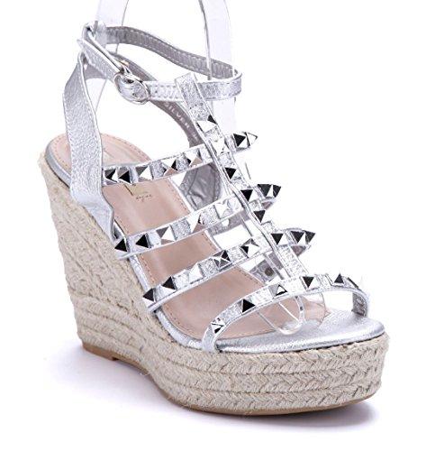 Schuhtempel24 Damen Schuhe Keilsandaletten Sandalen