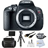 """Canon EOS Rebel T5i DSLR Camera Bundle - International Version (No Warranty) Comes with Extended Life Replacement Battery + HDMI Cable + Carrying Case +8"""" Gripster + Wrist Strap & Starter Kit & More!"""