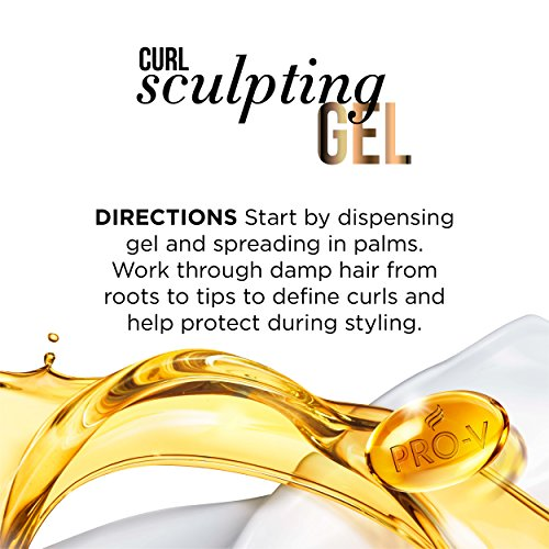 080878043132 - Pantene Curl Perfection Sculpting Hair Gel 6.8 Oz (Pack of 3) carousel main 3
