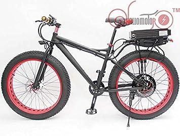 48 V 500 W 26 FAT Tire rueda para bicicleta Beach Cruiser bicicleta eléctrica de