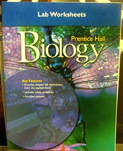 Lab Worksheets (MILLER LEVINE BIOLOGY LAB WORKSHEETS 2008C)
