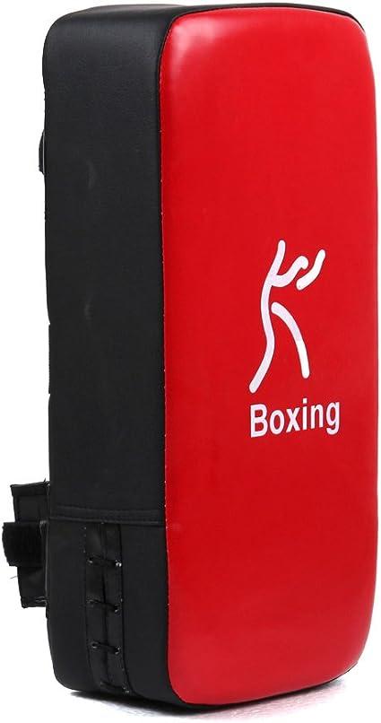 Kick Boxing Sparring Karate Strike Arm Pad Punch Bag Shield Training Target R TOOGOO Black