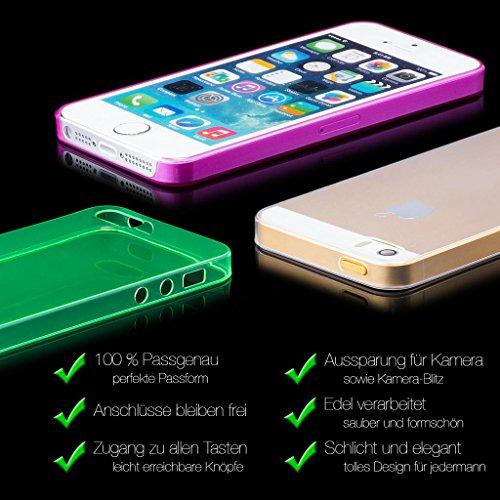 Apple iPhone 4 / 4S | iCues Zéro Matt Case orange | [Protecteur d'écran, y compris] la lumière supplémentaire très mince protecteur de feuille transparente Temps clair de protection Housse de protecti