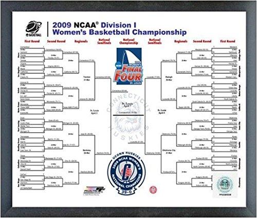 2009 Ncaa Final Four - 2009 NCAA Women's Final 4 Championship Bracket Photo (Size: 17