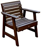 Cheap Highwood Weatherly Garden Chair, Weathered Acorn