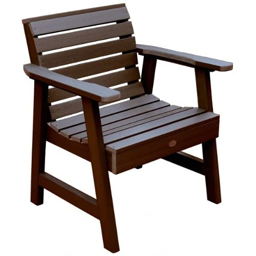 Discount Highwood Weatherly Garden Chair, Weathered Acorn