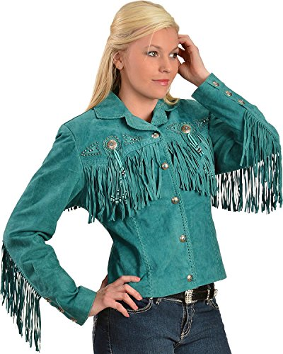 Scully Women's Fringe And Beaded Boar Su - Beaded Suede Jacket Shopping Results