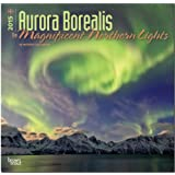 Aurora Borealis - The Magnificent Northern Lights 2015 Square 12x12 (Multilingual Edition)