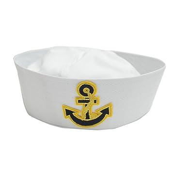 641553c274b9b Geekbuzz Kids Sailor Captain Hat Fancy Dress Child Sailor Costume Hat Caps    Headwear for Sailing Nautical Party Cosplay(Arrow)  Amazon.co.uk  Toys    Games