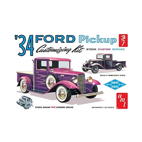 AMT 1934 Ford Pickup 1:25 Scale Model Kit 1