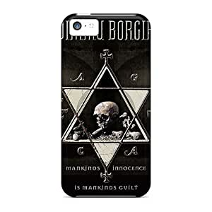 Excellent Cell-phone Hard Cover For Apple Iphone 5c With Unique Design HD Dimmu Borgir Band Series SherriFakhry