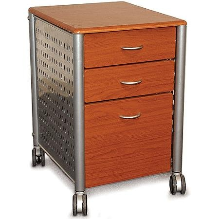 Innovex Archive Series Filing Cabinet, Medium Cherry by Supernon