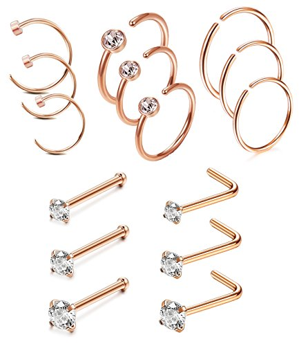 Jstyle Stainless L Shape Piercing Jewelry product image
