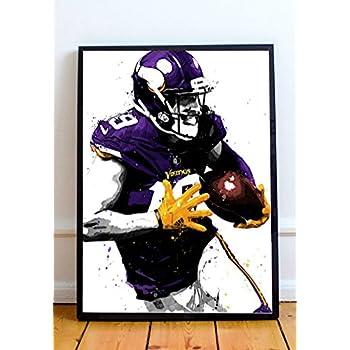 Adam Thielen Limited Poster Artwork - Professional Wall Art Merchandise (More (8x10)