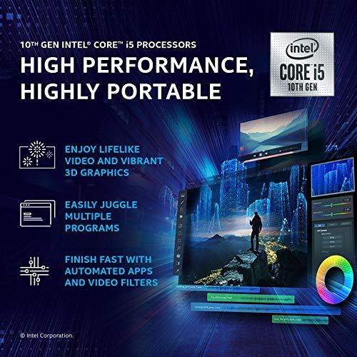 Dell Inspiron 5408 14 inch FHD 5000 Series Laptop (10th Gen i5-1035G1/8 GB/512 SSD/2 Gb NVIDIA MX 330 Graphics/Win 10 + MS Office/Pebble) D560210WIN9SE