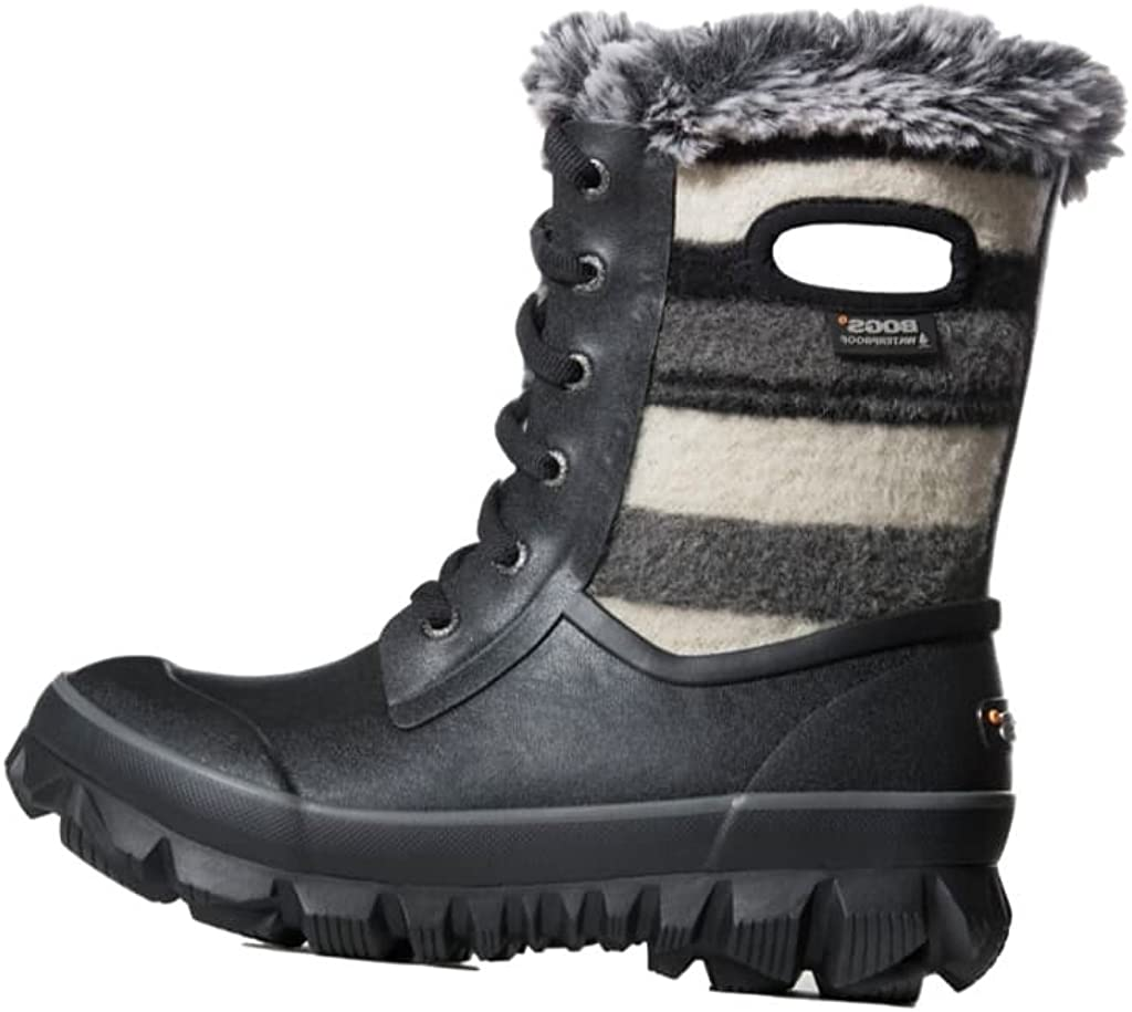 Bogs Womens Arcata Sripe Snow Boot