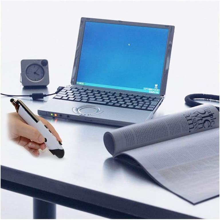 Black Effective Distance: 10m Color : Grey Support Windows 8//7 // Vista//XP // 2000 // Android//Linux//Mac OS Mice CHNAN PR-08 2.4G Innovative Pen-Style Handheld Wireless Smart Mouse