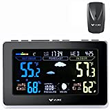 Best Home Weather Stations - VLIKE VL1003 Wireless Weather Station Outdoor Sensor Home Review