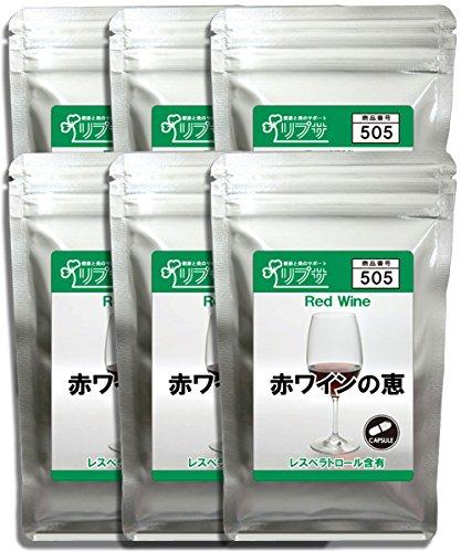 赤ワインの恵 約1か月分×12袋 C-505-12 B00E4J7TZC 約12ヶ月分(約1ヶ月分×12袋)  約12ヶ月分(約1ヶ月分×12袋)