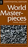 World Masterpieces, Continental Edition, Homer, Plato, Aristotle, 0393093190