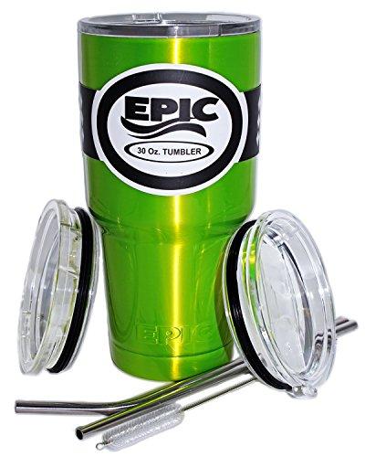 Lime Green Tumbler - 2