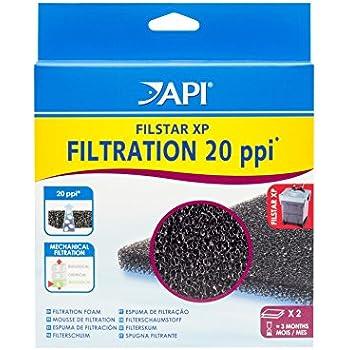 API FILSTAR XP FILTRATION FOAM Aquarium Canister Filter Filtration Pads 2-Count