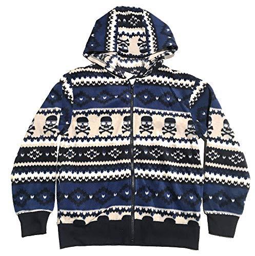 - Gymboree Toddler Boy's Fleece Zip Front Hooded Jacket S 5/6