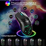 USB Gaming Mouse, Honeycomb Lightweight Gaming