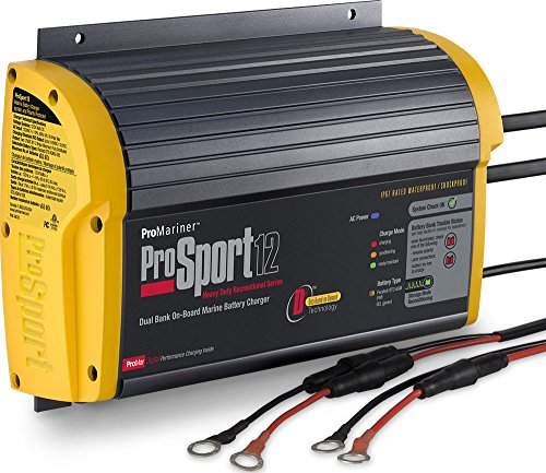 Sport 12 12-Amp 2-Bank Battery Charger ()