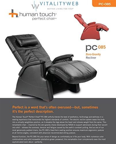 Amazon.com: PC 085 Perfect Chair Zero Gravity Recliner Color: Red: Kitchen  U0026 Dining
