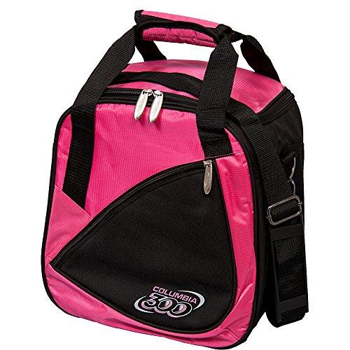 Columbia C300 Team Single Tote Bowling Bag, Pink