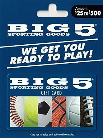 539a327ba075 Amazon.com  BIG 5  25-500  Gift Cards