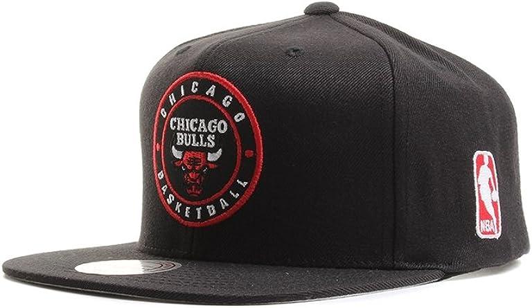 Mitchell & Ness Chicago Bulls Circle Patch Team Snapback Gorra ...