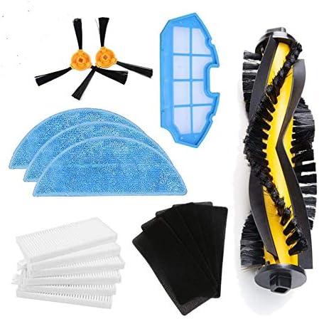 BLUELIRR Kit de accesorios de limpieza para robots aspiradores ...