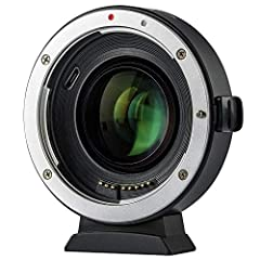 Compatible with :  * Viltrox EF-M2 II mount adapter is designed to allow Canon EF-mount series lens to be used on M43 camera.  * Plus 0.71 based on the original focal length (equivalent focal length=focal length x0.71), which help enlarge 1 l...