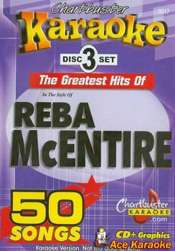 Chartbuster Karaoke CDG CB5047 - Reba McEntire