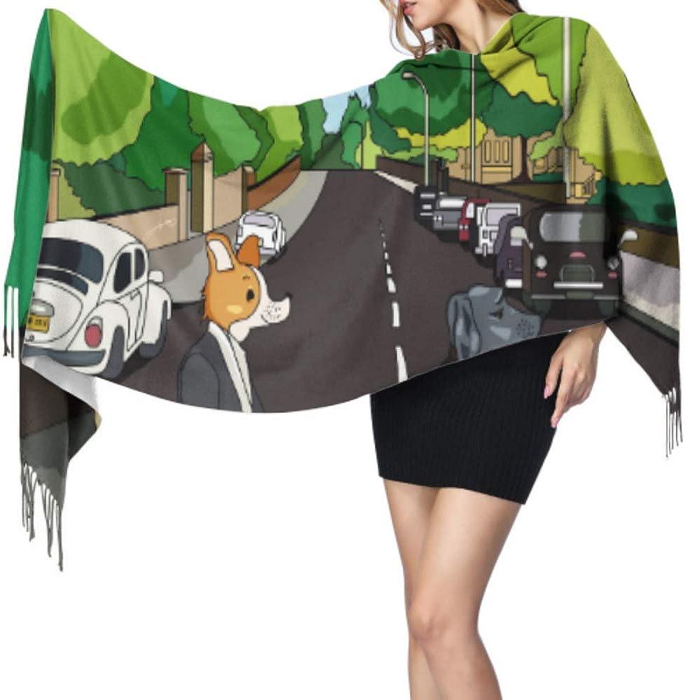 Chic Fans Puppy Dog Abbey Road - Bufanda grande para ...