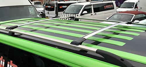 2013 Wing Aero Cross Bars Roof Rack Aluminium Roof Spoiler Lockable WingBar For Nissan Rogue MK1 2007