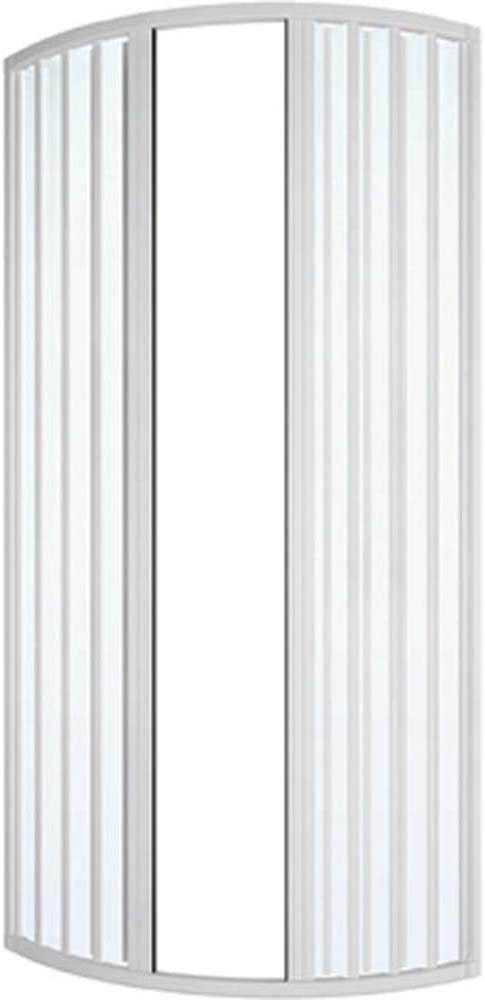 Dianhydro Mampara de Ducha Con Fuelle Circular MOD. ILARIA LUX 80 x 80 cm: Amazon.es: Hogar