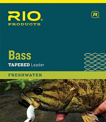 RIO Products Leaders Bass Leaders 9' 10Lb 3 Pack, Clear