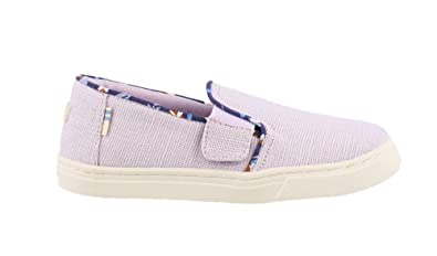 8732ae7e46 Image Unavailable. Image not available for. Color: TOMS Girl's, Luca Slip  on Shoes ...