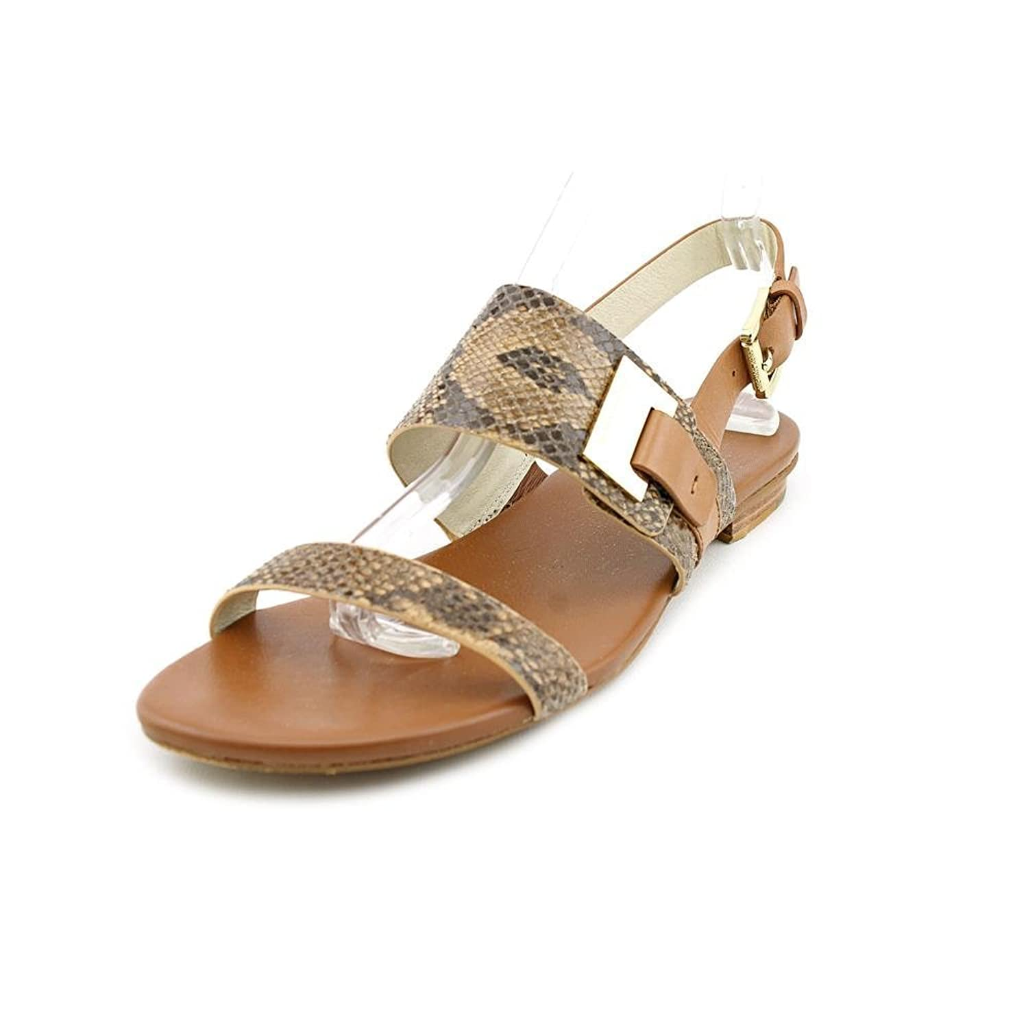 Women's Guiliana Flat Sandal Leather Sand 6M