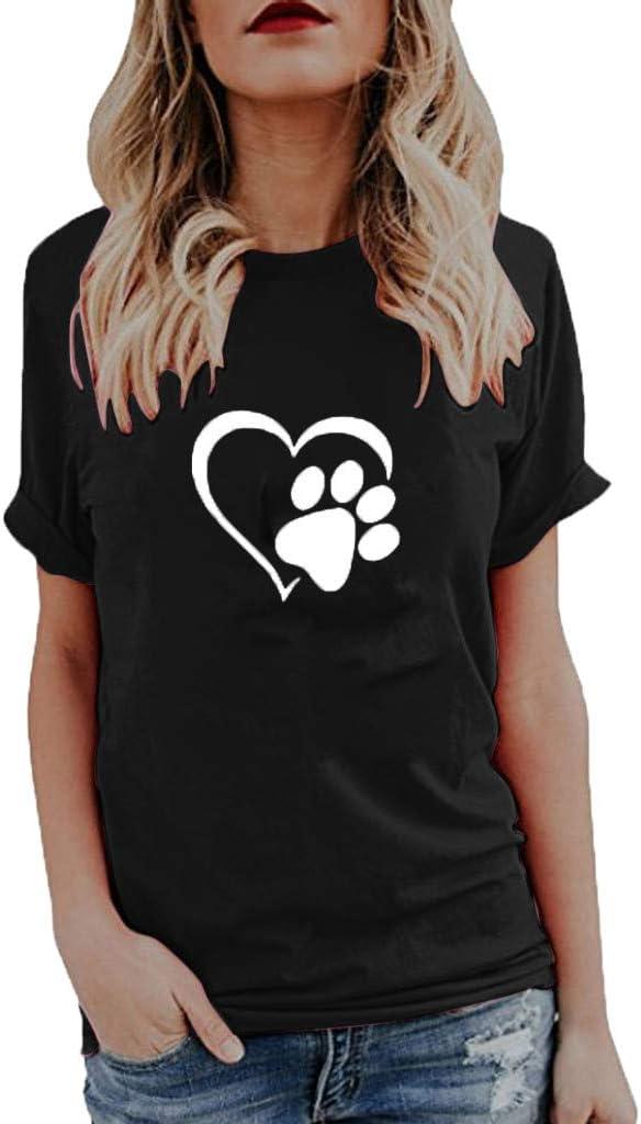 GzxtLTX Womens Short Sleeve T-Shirt Shirt Floral Print T-Shirt Comfort Tops Summer Casual Womens Wear
